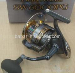 New Shimano TWIN POWER SW 6000PG Spinning Reel 2009
