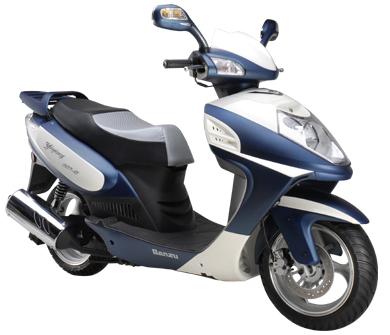 125cc eec gasoline scooters