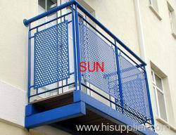 perforated metal fencing
