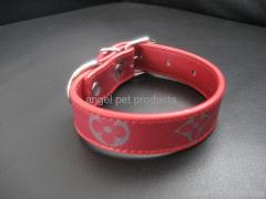 Louis Vuitton dog collar