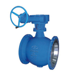 carbon steel eccentric semi ball valve