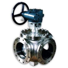 Flange 3-Way Ball Valve