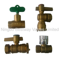brass locking ball valves