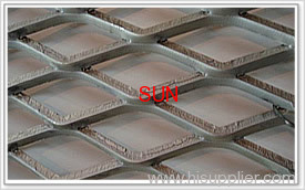 Metal expanded sheets