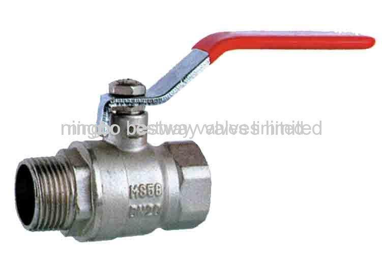 2 brass ball valves