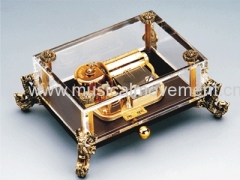 Luck Dragon Crystal 30 Note Luxury Wind up Music Box GIfts