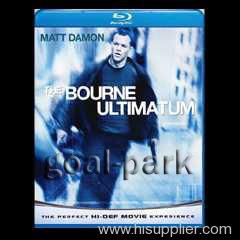THE BOURNE ULTIMATUM Blue Ray movie