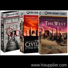 The War -The West -Civil War DVD Boxset