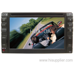 """Double din 6.2"""" car DVD player HT-6200"""