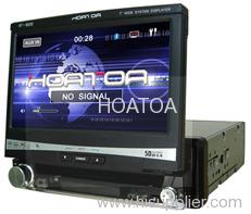 "Single Din 7"" car DVD player HT-8000"