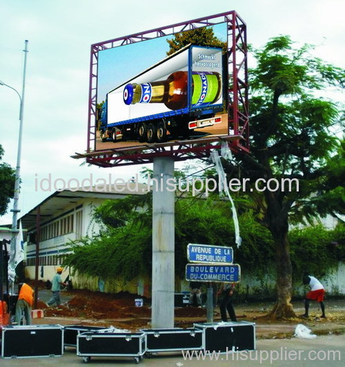 Outdoor full LED display