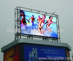 LED advertising board