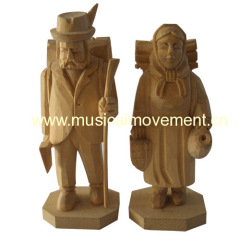 Figure Wood Carving