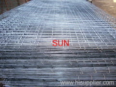 flat welded mesh panels