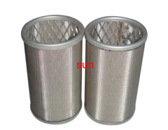 Stainless Cartridge Mesh