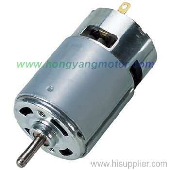Dc brush motor from china manufacturer yuyao for Dc motor brushes function