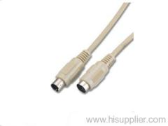 4 pin male s-video cable