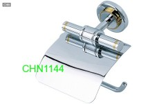 satin nickel toilet paper holder