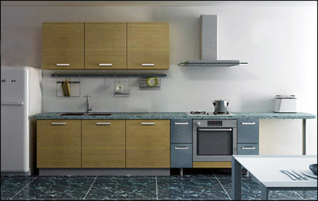 oak Painting Kitchen Cabinet
