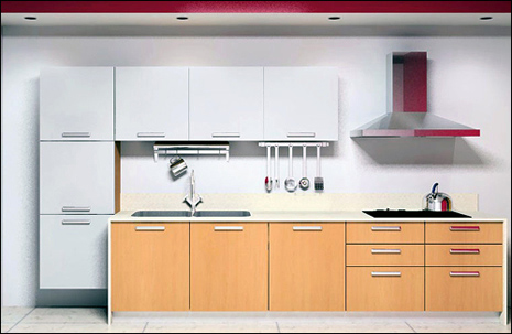 Lacquer Finish Cabinets
