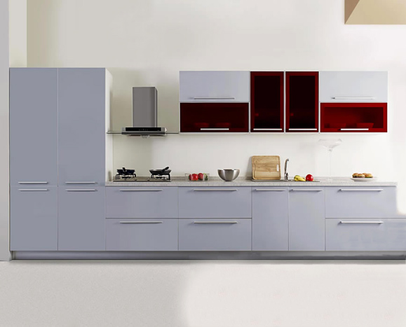 Lacquered Kitchen Cabinet