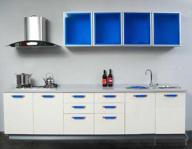 Panited Kitchen Cabinet
