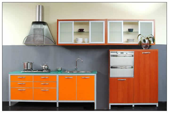 Laquer Coating Kitchen Cabinet