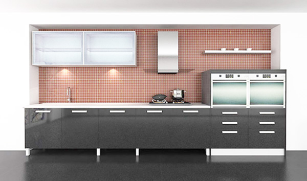 CNC PVC Kitchen Cabinet from China manufacturer - Ningbo Mier ...