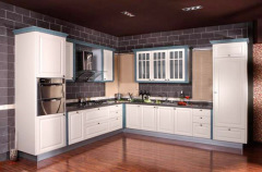 Vinyl Kitchen Cabinet