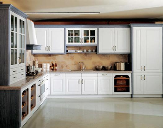 Standard Vinyl Kitchen Cabinet