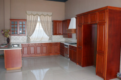 Solid Wood Kitchen Cabinet Design