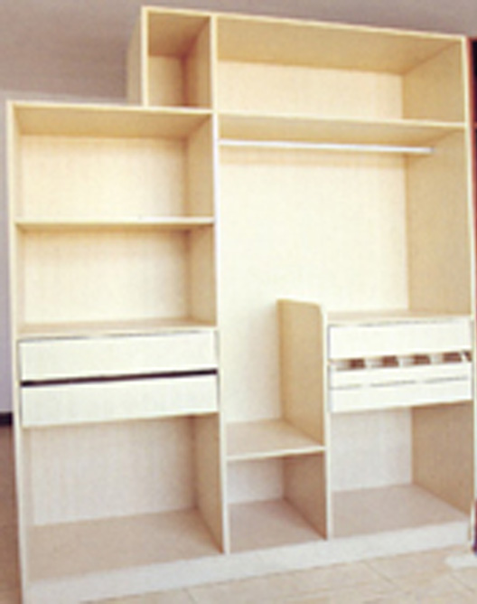 Assembled Closet