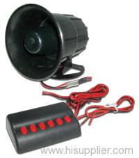 siren and speaker
