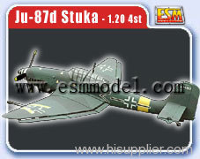 Giant model plane 30cc Ju 87D Stuka