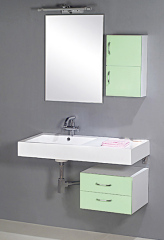 Simple Lacquered Bathroom Cabinet