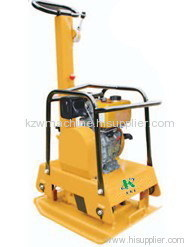 reversible soil plate compactor