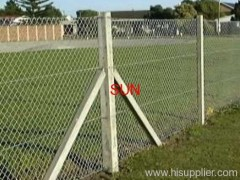 steel chain link fences