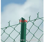 pvc coated chain link fences