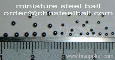 miniature bearing steel balls