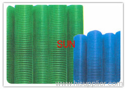 pvc coated weled wire mesh