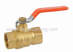 Brass zinc alloy ball valve