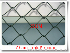 chain- link fence gates