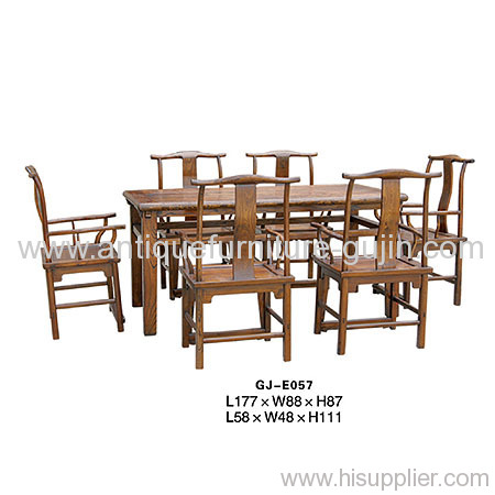 Antique Oriental furniture dining table & chair Manufacturer & supplier