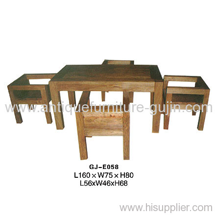 Chinese Antique Dining Table Set Manufacturer Supplier