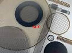 Tray filter mesh