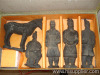 Chinese antique terra cotta warriors