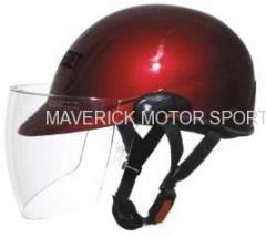 motorcycle open helmet