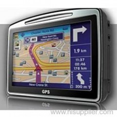 GPS Navigation System - SIRF III - 4.3-inch TFT Touch Screen