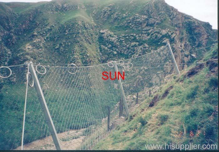 hexagonal wire fences