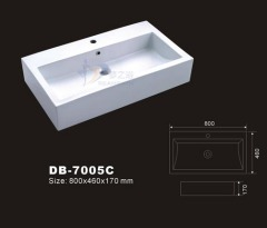 Large Sink,Large Ceramic Sink,Large Lavatory, Large Basin,Large Washbasin,Bathroom Sink,Rectangle Sink